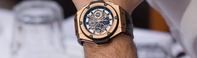 Hublot King Power King of Russia Rose Gold Special Edition