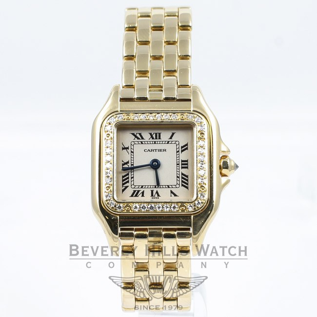 Cartier Gold Panthere Watch Cartier Panthere Yellow Gold