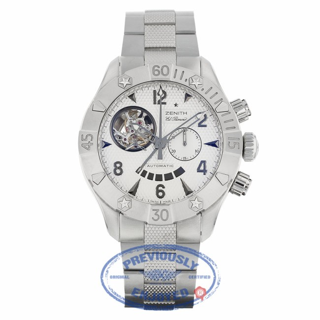 dca6a1fa1af Zenith Defy Classic Open Stainless Steel 03.0526.4021 - Beverly Hills Watch