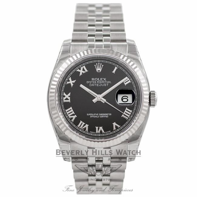 Rolex Datejust 36mm Black Dial