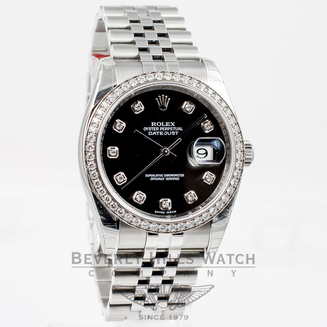 Rolex Datejust 36mm Diamond Bezel