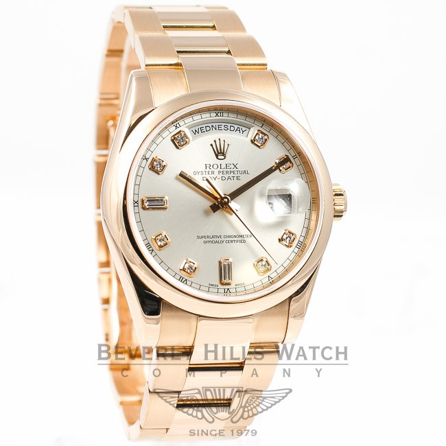 Rolex Lady Day Just Rose Gold