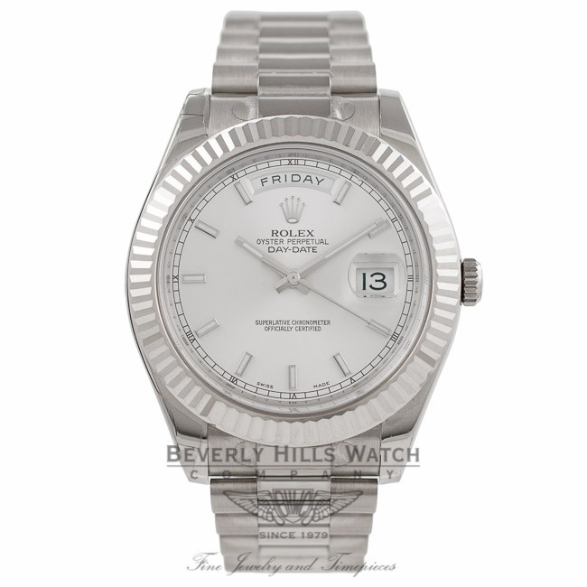 Rolex Oyster Perpetual Day Date 18k White Gold