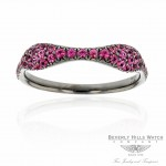 18k White Gold Spinel Ring QYCADJ - Beverly Hills Watch