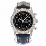 Breitling Navitimer World Watch Black Dial A2432212/B726 - Beverly Hills Watch