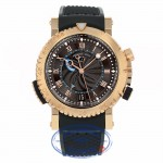 Breguet Marine Royale Automatic 45mm 18k Rose Gold 5847BR/Z2/5ZV VYT48F - Beverly Hills Watch Company