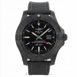 Breitling Avenger Blackbird Black Steel 48MM Titanium Automatic Black Dial V1731010/BD12 AQ4RHE - Beverly Hills Watch Company Watch Store