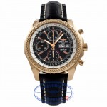 Breitling Bentley GT Rose Gold 18k Rose Gold Clasp H13363 5AUE64 - Beverly Hills Watch Company Watch Store