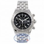 Breitling Chronomat Evolution Stainless Steel Slate Grey Dial A1335611/F517