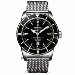 Breitling Superocean Black Dial Stainless Steel A1732024/B868 FFV3Y6 - Beverly Hills Watch Company Watch Store