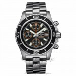 Breitling Superocean Chronograph II Stainless Steel Abyss Orange Second Hand A13341A8/BA85 LZ6AKA