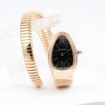 Bulgari Serpenti 35mm Pink Gold Diamond Watch SP35BGDG.1T MX2HVW