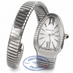 Bvlgari Serpenti Diamond Bezel Stainless Steel 35MM SP35C6SDS.1T UXVJMB - Beverly Hills Watch Company Watch Store