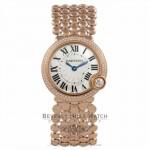 Cartier Ballon Blanc 30MM Quartz 18k Rose Gold Diamond Bezel Mother of Pearl Dial WE902071 LKE4N6  - Beverly Hills Watch Company Watch Store