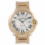 Cartier Ballon Bleu Large Yellow Gold Automatic W69005Z2 EDF51L - Beverly Hills Watch Company Watch Store