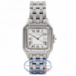 Cartier Panthere Jumbo Size Stainless Steel Silver Dial W25032P5 CEKMGG - Beverly Hills Watch Company Watch Store