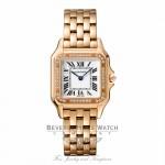Cartier Panthere de Cartier Medium 18k Rose Gold with Diamonds WJPN0009 ATH9P0 - Beverly Hills Watch