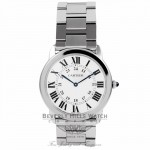 Cartier Rondo Solo Large Stainless Steel - Bervely Hills Watch Company