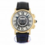 Cartier Rotonde Chrono 18k Yellow Gold Automatic 42mm Slate Grey Dial Metal Grey Dial W1555951 W963H8 - Beverly Hills Watch