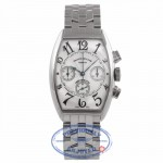 Franck Muller Stainless Steel 44MM Chronograph on Bracelet 5850 CC AT X9MQR1 - Beverly Hills Watch Company Watch Store