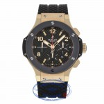 Hublot 44mm Classic Big Bang Rose Gold Ceramic Carbon Fiber Dial Chronograph 301.PB.131.RX 9WCZ51 - Beverly Hills Watch Company
