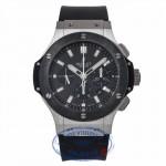 Hublot Big Bang Evolution 44MM Stainless Steel Black Ceramic Bezel 301.SM.1770.RX R736NP - Beverly Hills Watch Company Watch Store