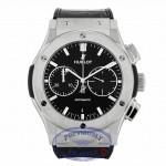Hublot Classic Fusion Chrono Automatic 45mm Titanium Black Dial 541.NX.7170.LR MHAP23 - Beverly Hills Watch
