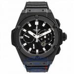 Hublot King Power Black Magic 48MM Black Ceramic Black Carbon Fiber Dial 709.CI.1770.RX RGZICH - Beverly Hills Watch Company Watch Store