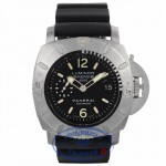 Panerai Submersible 2500M 47mm Titanium Case/Bezel White Gold Markers on Bezel Limited Edition PAM00194 LNFPAY - Beverly Hills Watch Company Watch Store Watch Store