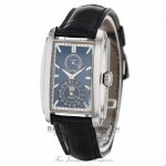 Patek Philippe Gondolo Matte Blue Dial 18K White Gold 5200G-001 6ND05Y - Beverly Hills Watch Company