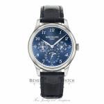 Patek Philippe 39mm Grand Complication Perpetual Calendar 18k White Gold 5327G-001 X5PT0F - Beverly Hills Watch