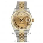 Rolex Datejust 31MM 18k Yellow Gold Stainless Steel Jubilee Bracelet 178273 J47U9Y - Beverly Hills Watch Company
