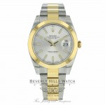 Rolex Datejust II 41mm Domed Bezel Yellow Gold Stainless Steel 126303 PKH32V - Beverly Hills Watch