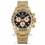 Rolex Oyster Perpetual Cosmograph Daytona 40mm 18k Yellow Gold 116508 1U82WN - Beverly Hills Watch Company