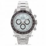 Rolex Daytona 40MM Platinum Anniversary Edition Chestnut Brown Monobloc Cerachrom Bezel 116506 RYJHRM - Beverly Hills Watch Company Watch Store
