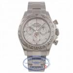 Rolex Daytona 18k White Gold Meteorite Dial on Bracelet 11509 DT5WYF - Beverly Hills Watch Company Watch Store