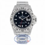 Rolex Explorer II Classic 40mm Black Dial Stainless Steel 16570 KHDYRY - Beverly Hills Watch Company