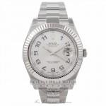 Rolex Datejust II 41mm Stainless Steel 116334 M7ZWP4 - Beverly Hills Watch Company Watch Store