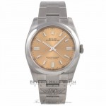 Rolex Oyster Perpetual 36mm Stainless Steel White Grape Dial Index Markings Bracelet 116000 T6Z5U7 - Beverly Hills Watch Company Watch Store