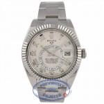Rolex Sky-Dweller 18k White Gold  Dual Time Annual Calendar 326939 U5CVQ4 - Beverly Hills Watch Company Watch Store