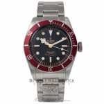 Tudor Heritage Black Bay 41MM Stainless Steel Black dial Burgundy Bezel 79220R 1QKDC0 - Beverly Hills Watch Company
