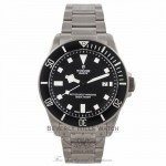 Tudor Pelagos Titanium Black Dial Black Bezel 25500TN 1R2T5G - Beverly Hills Watch Company Watch Store