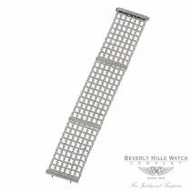 18K White Gold Diamond Mesh Bracelet 35700 GVLNKP - Beverly Hills Watch