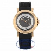 Breguet Marine Automatic Silver Dial Black Rubber 5817br/z2/5v8 1XHXYK - Beverly Hills Watch