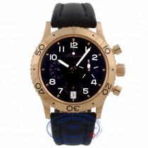 Breguet Type XX Transatlantique 39mm Rose Gold Flyback Chronograph Black Dial 3820BR 6HHFX2 -  Beverly Hills Watch Company