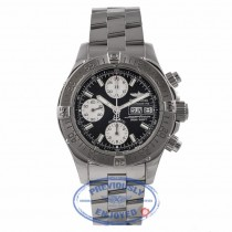 Breitling Chronograph Superocean 42MM Stainless Steel Black Dial A1334011.B683 5ALZVL - Beverly Hills Watch Store