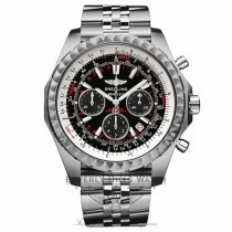 Breitling Bentley Motors T Speed Stainless Steel Chronograph Black Dial A2536513/B954 2DCYRK - Beverly Hills Watch Company Watch Store