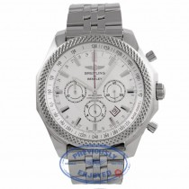 Breitling Bentley Barnato Chronograph 49MM Automatic Stainless Steel Silver A2536821/G734 6ARHAA