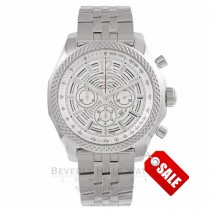 Breitling Bentley Barnato 42 Chronograph Automatic Silver Skeleton A4139021/G795 LQCT5K - Beverly Hills Watch Company Watch Store