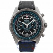 Breitling Bentley Supersports Chronograph Light Body 49MM Titanium Green Black Dial Green Strap E2736536/BB37 0MQ91E - Beverly Hills Watch Store